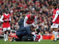 Самир Насри получил тяжелую травму.