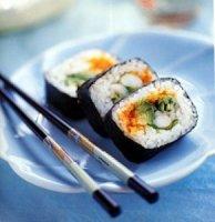 Рецепт приготовления суши