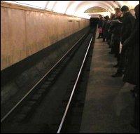 Остановка движения в киевском метро - угроза теракта?