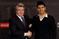 Агуэро продлил контракт с Атлетико