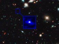 НАСА удалось сделать снимок древнейшей галактики Вселенной
