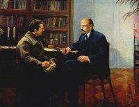 Беседа с В.И.Ленина о национализации Надеждинского завода