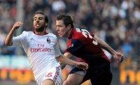 Милан оступился в Генуе