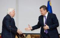 Янукович поблагодарил Пшонку за верность и преданность